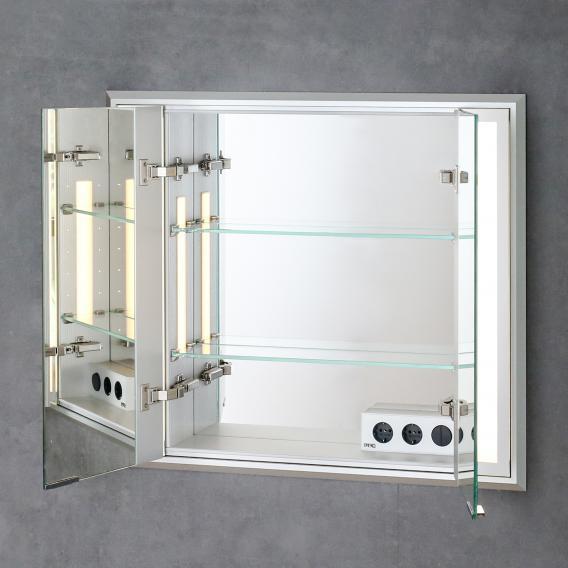 Sprinz Silver-Line Unterputz Spiegelschrank Modell-Nr. 02 ohne Hintergrundbeleuchtung