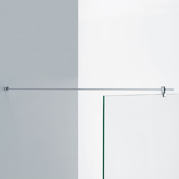 Sprinz Haltestange Glas-Wand, eckig L: bis 100 cm