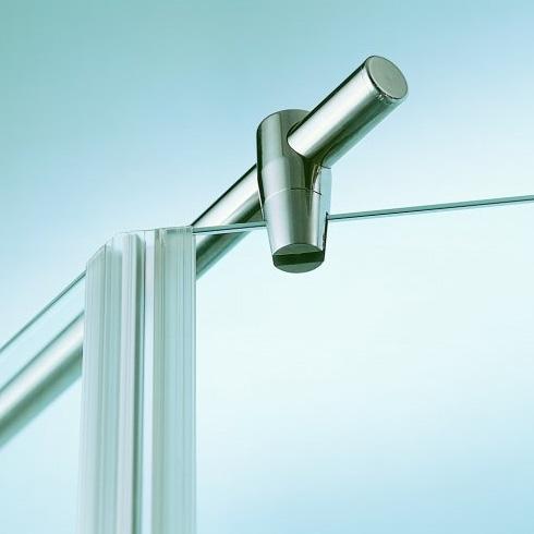 Sprinz Haltestange Glas-Wand, rund L: bis 100 cm