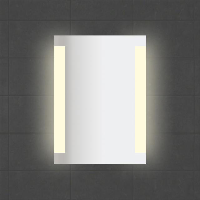 Sprinz Smart-Line Spiegel mit LED-Beleuchtung mit Weißadaption
