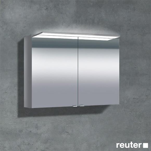 Sprinz Classical-Line Aufputz Spiegelschrank mit Paneel-Beleuchtung ...
