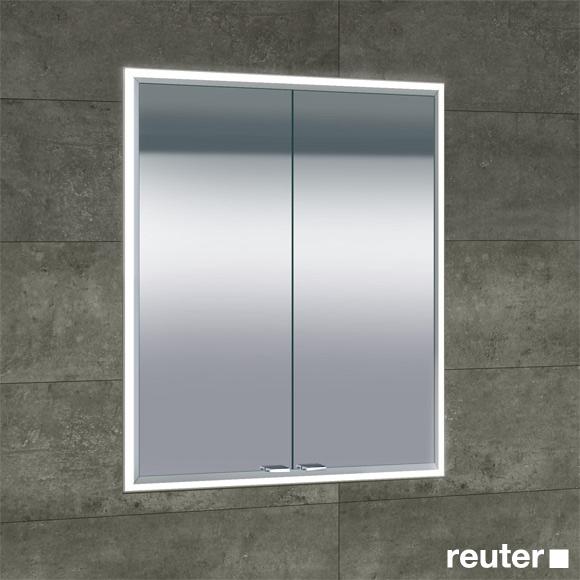 sprinz classical line unterputz spiegelschrank umlaufend beleuchtet c020600amam29e ll0600 reuter. Black Bedroom Furniture Sets. Home Design Ideas
