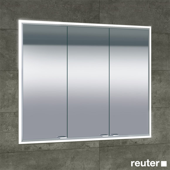 Sprinz classical line unterputz spiegelschrank umlaufend beleuchtet c030900amam29e ll0900 reuter for Unterputz spiegelschrank