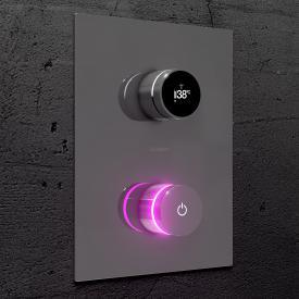 Steinberg iFlow vollelektronische Armatur mit Digitalanzeige für 2 Verbraucher