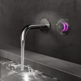 Steinberg iFlow vollelektronische Wand-Waschtisch-Armatur chrom