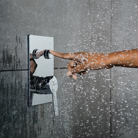 Steinberg Sensual Rain Unterputz-Einhebelmischbatterie  2 Verbraucher chrom