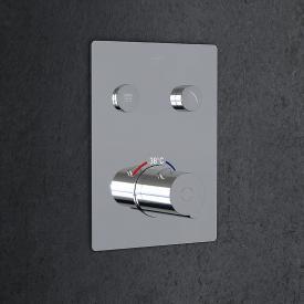 Steinberg Sensual Rain Unterputz-Thermostat für 2 Verbraucher chrom