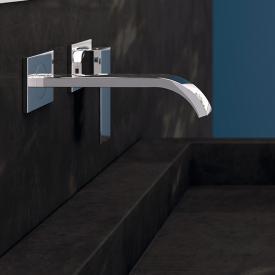 Steinberg Serie 135 Fertigmontageset für Waschtisch-Einhebelmischer chrom, Ausladung: 200 mm