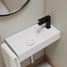 Steinberg Serie 160 Waschtisch-Einhebelmischbatterie ohne Ablaufgarnitur, schwarz matt