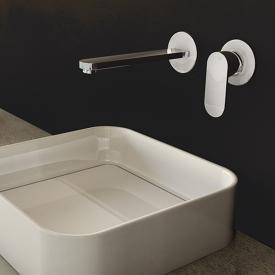 Steinberg Serie 170 Fertigmontageset für Waschtisch-Einhebelmischer Ausladung: 200 mm