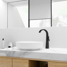 Steinberg Serie 280 Waschtisch-Einhebelmischer schwarz matt