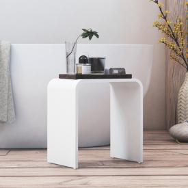 Steinberg Serie 430 Duschhocker weiß
