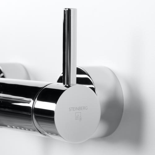 """Steinberg Serie 100 Wanne/Brause-Einhebelmischbatterie 1/2"""" chrom"""