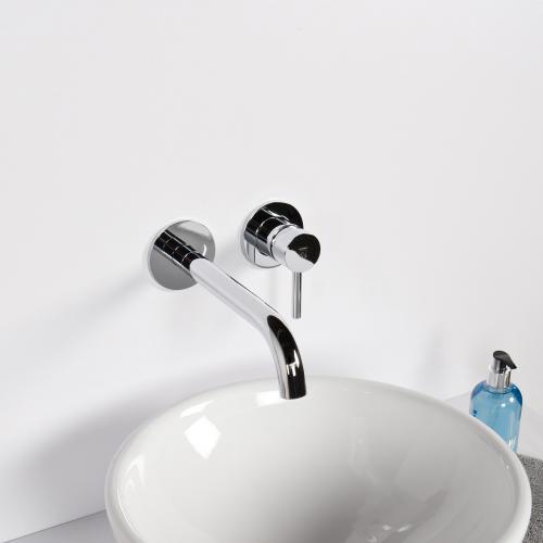 steinberg serie 100 waschtisch einhebelmischbatterie f r wandmontage ausladung 245 mm 100. Black Bedroom Furniture Sets. Home Design Ideas
