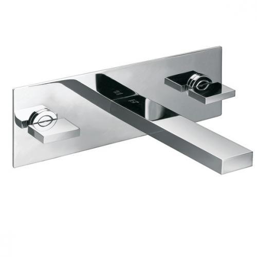 steinberg serie 160 3 loch waschtisch armatur f r wandmontage ausladung 165 mm 160 1950 reuter. Black Bedroom Furniture Sets. Home Design Ideas
