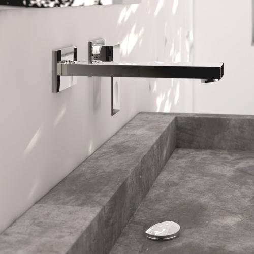 steinberg serie 160 waschtisch einhebelmischbatterie f r wandmontage ausladung 200 mm 160. Black Bedroom Furniture Sets. Home Design Ideas