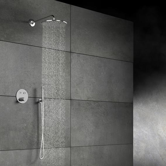 "Steinberg Sensual Rain ""Rain Shower"" Regenbrause schwarz matt"