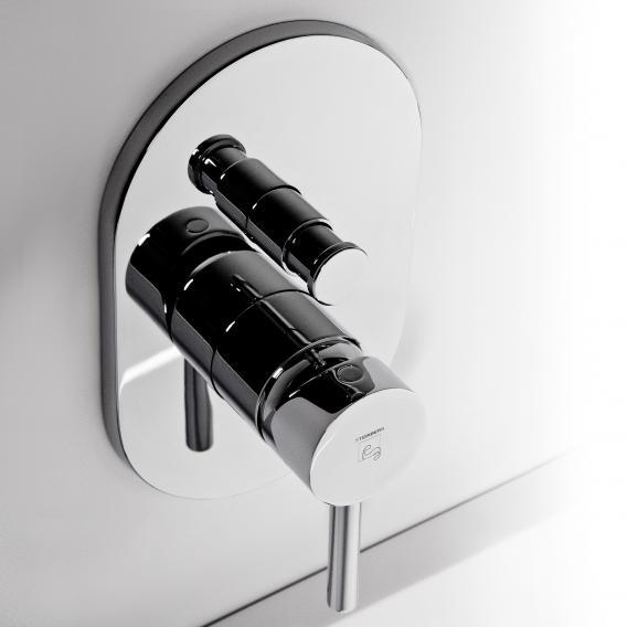steinberg serie 100 fertigmontageset f r wanne brause einhebelmischer mit umsteller chrom 100. Black Bedroom Furniture Sets. Home Design Ideas