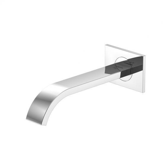 Steinberg Serie 135 Schwallauslauf für Waschtisch oder Wanne chrom, Ausladung: 175 mm
