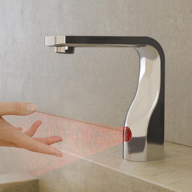 Steinberg 230 Elektronische Waschtischarmatur chrom