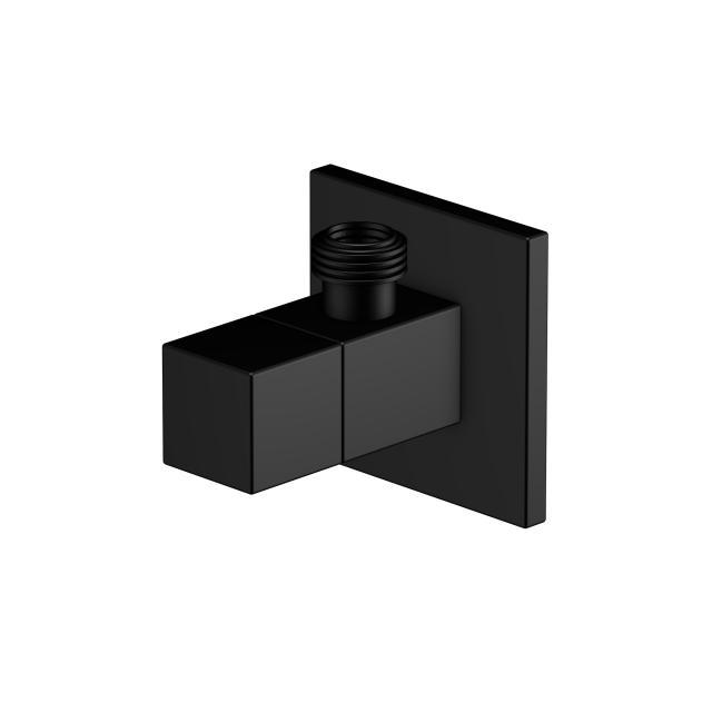 Steinberg Eckventil mit 3/8 Zoll-Anschluss für Flexschlauch schwarz matt