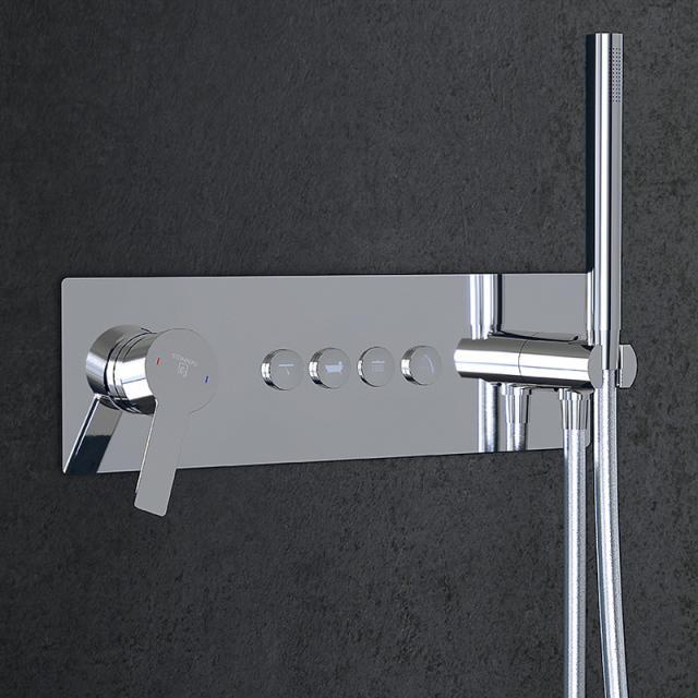 Steinberg Sensual Rain Unterputz-Einhebelmischbatterie für 4 Verbraucher