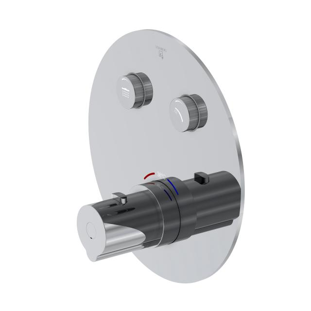 Steinberg Sensual Rain das NEUE Unterputz-Thermostat für 2 Verbraucher, mit Mengenregulierung