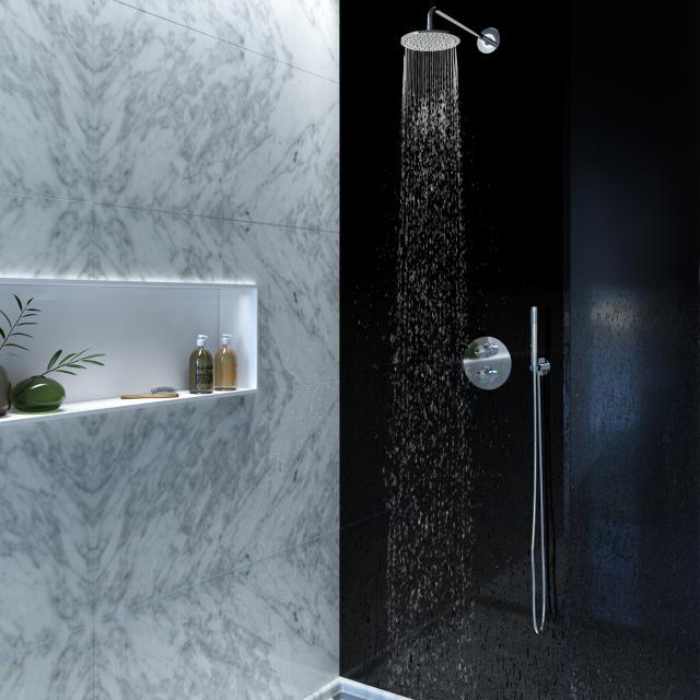 Steinberg Serie 100 Dusch-Set mit Unterputzthermostat und Kopfbrause