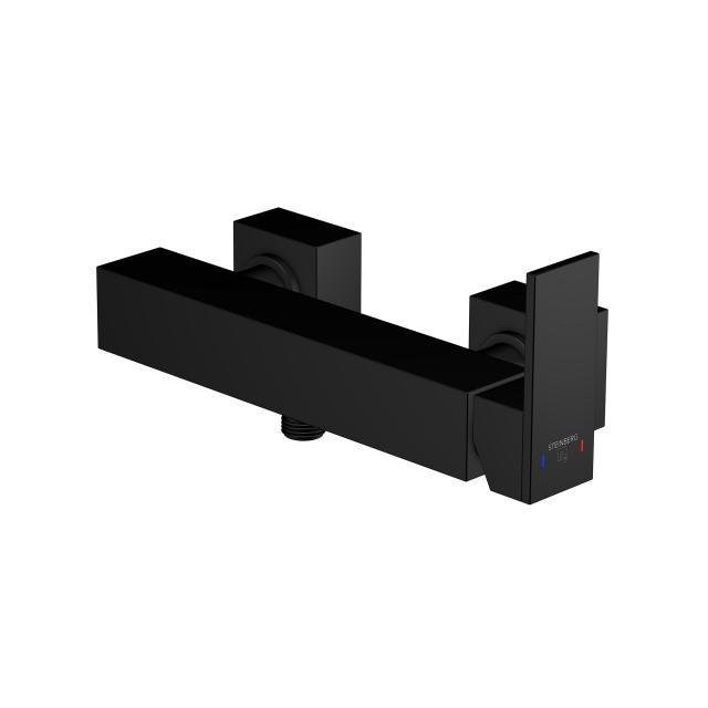 Steinberg Serie 135 / 160 Brause-Einhebelmischbatterie schwarz matt