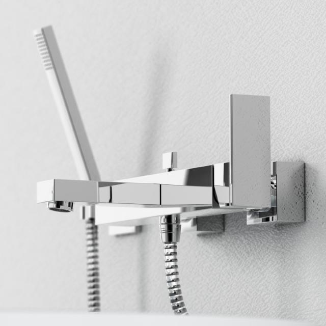 Steinberg Serie 135 / 160 Wanne-/Brause-Einhebelmischer chrom
