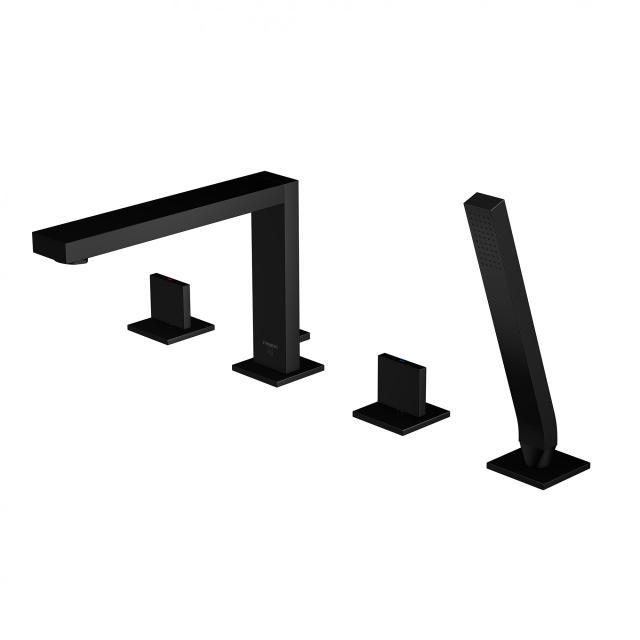 Steinberg Serie 160 Standarmatur schwarz matt, Ausladung: 210 mm