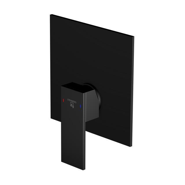 Steinberg 160 das NEUE Fertigmontageset für Brause-Einhebelmischer schwarz matt