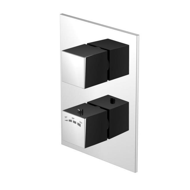 Steinberg Serie 160 Fertigmontageset für Unterputzthermostat mit Mengenregulierung