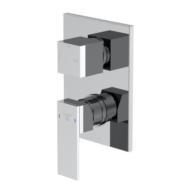 Steinberg Serie 160 Fertigmontageset für Wannen/Brause-Einhebelmischbatterien mit Sicherungskombination