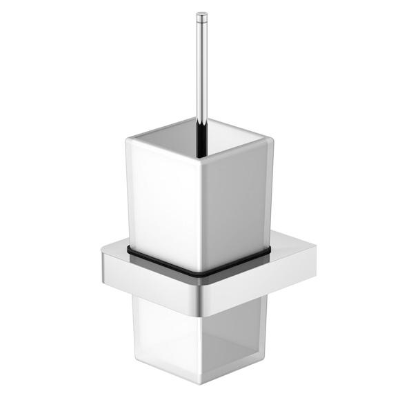 Steinberg Serie 420 WC-Bürstengarnitur für Wandmontage weiß satiniert