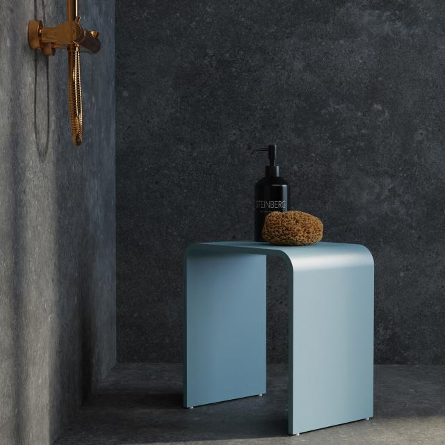 Steinberg Serie 430 Duschhocker rauchblau