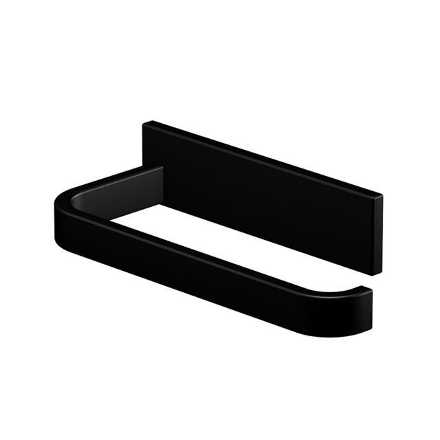 Steinberg Serie 450 Toilettenpapierhalter schwarz matt
