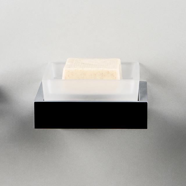 Steinberg Serie 460 Seifenhalter weiß satiniert