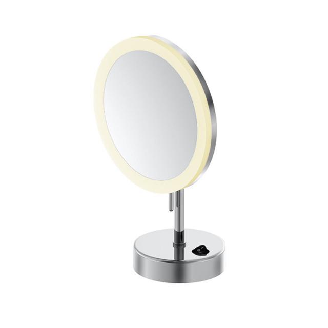 Steinberg Serie 650 LED Stand-Kosmetikspiegel mit Batterie