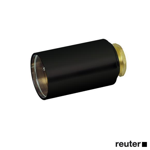 Steinberg Verlängerungsset 25 mm für Unterputz-Wanne/Brause-Einhebelmischer mit Umsteller schwarz matt