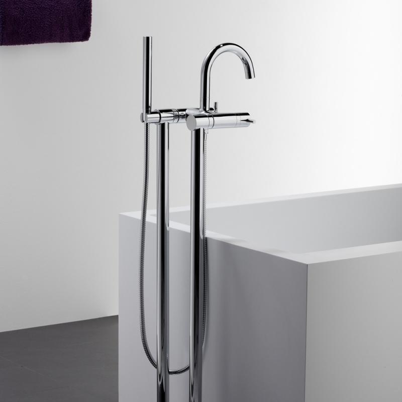 steinberg serie 100 freistehende wanne brause armatur chrom 100 1162 reuter. Black Bedroom Furniture Sets. Home Design Ideas