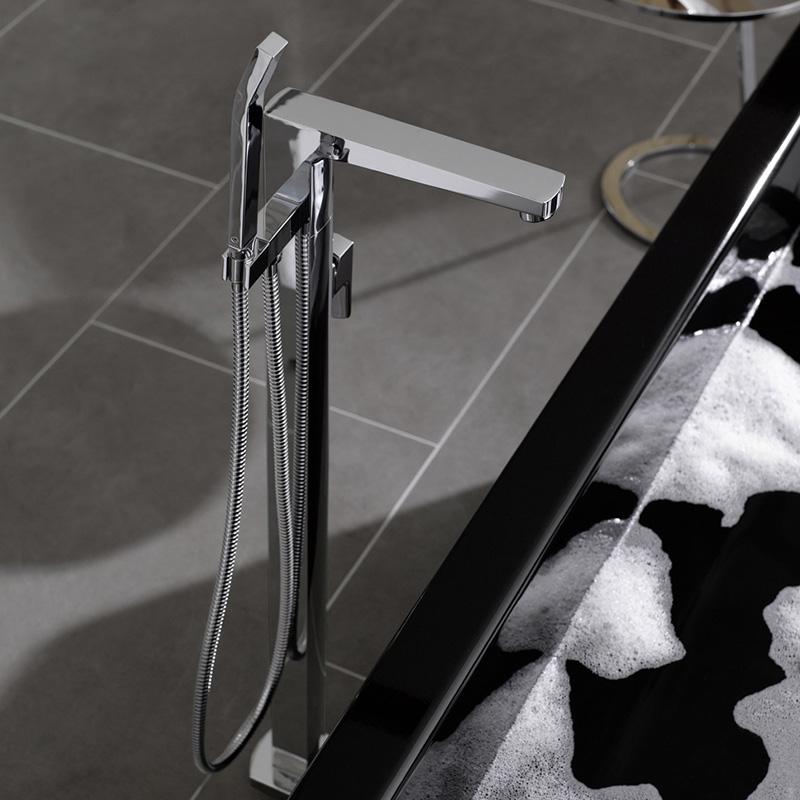 steinberg serie 120 freistehende wanne brause armatur 120 1162 reuter. Black Bedroom Furniture Sets. Home Design Ideas