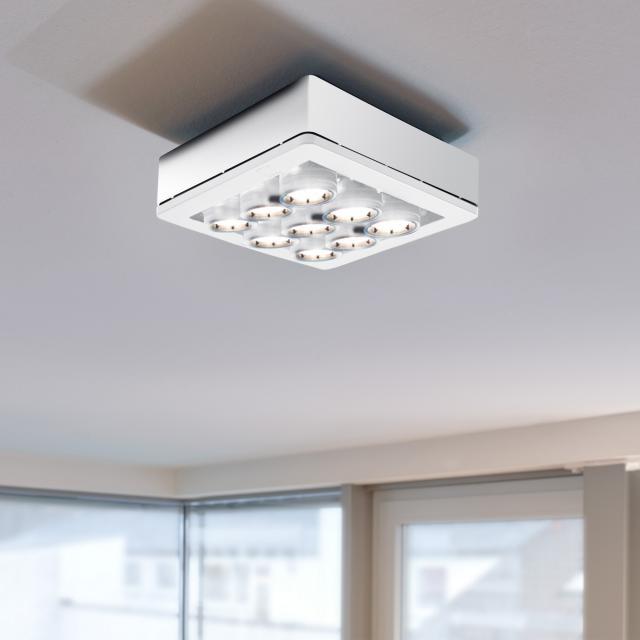 STENG Licht COMBILIGHT LED Deckenleuchte/ Spot 9-flammig starr