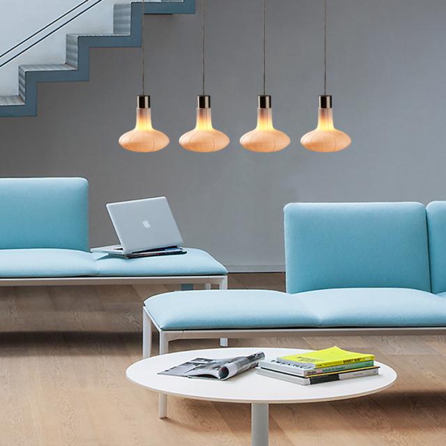 STENG Licht WOASH LED Pendelleuchte 4-flammig