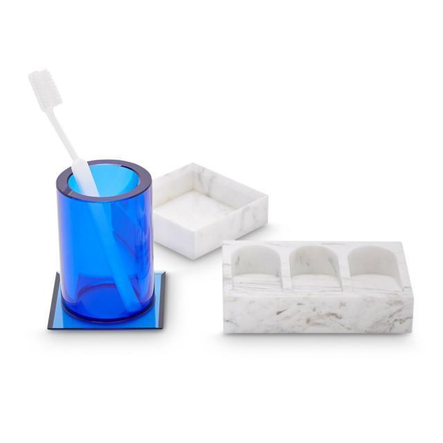 Tom Dixon Lid Tube Glas und Aufbewahrungsschale