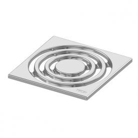 TECE drainpoint S Designrost Edelstahl L: 15 B: 15 cm