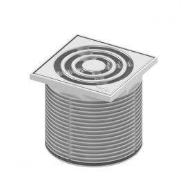 TECE drainpoint S Rostrahmen Kunststoff inkl. Designrost