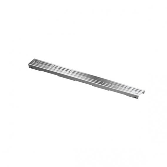 """TECE drainline Designrost """"basic"""" für Rinne, gerade edelstahl poliert, für Duschrinne: 80 cm"""