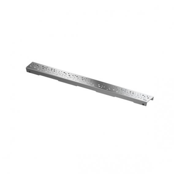 """TECE drainline Designrost """"drops"""" für Rinne, gerade edelstahl poliert, für Duschrinne: 80 cm"""