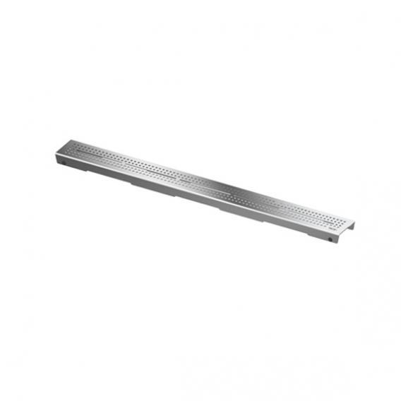 """TECE drainline Designrost """"quadratum"""" für Rinne, gerade edelstahl poliert, für Duschrinne: 90 cm"""